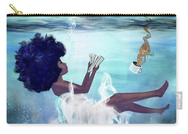 I Aint Drowning Carry-all Pouch