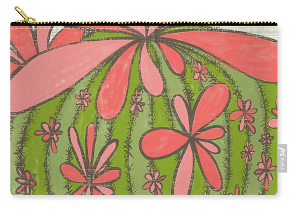 I Smile Like A Flower Rumi Quote Carry-all Pouch