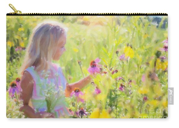 I Would Pick More Daisies ... Carry-all Pouch