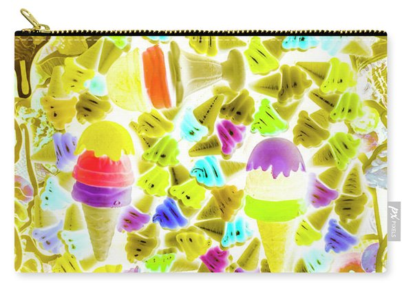 Ice-dream Carry-all Pouch