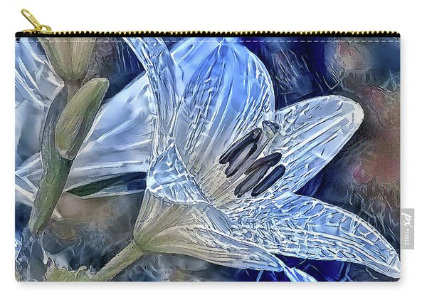 Ice Lily Carry-all Pouch