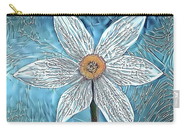 Ice Ornithogalum Carry-all Pouch