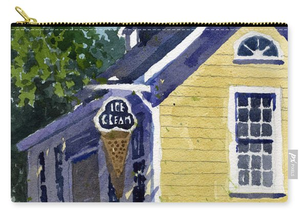 Ice Parlor At Paoli Carry-all Pouch