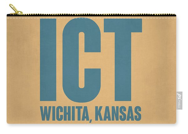 Ict Wichita Luggage Tag I Carry-all Pouch