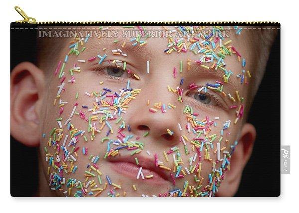 Carry-all Pouch featuring the digital art If You Were A Cake by ISAW Company
