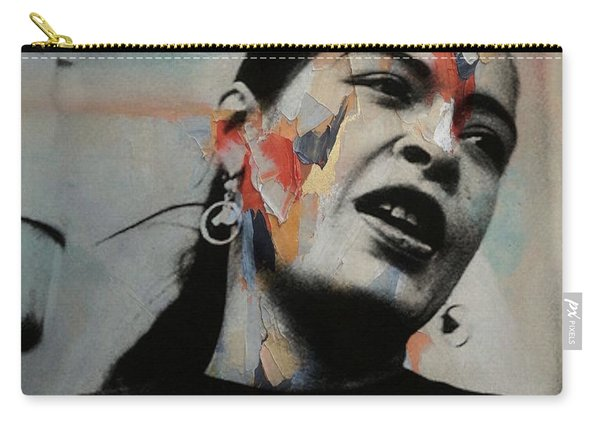 I'll Be Seeing You - Billie Holiday  Carry-all Pouch
