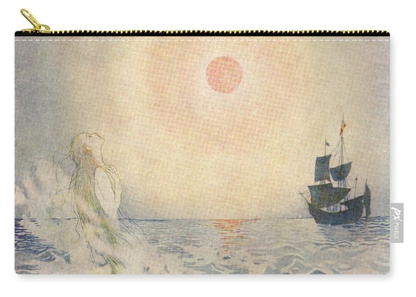 The Little Mermaid, Illustration From  Carry-all Pouch