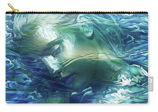 Immersed In Thoughts Carry-all Pouch