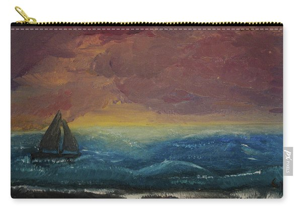 Impressions Of The Sea Carry-all Pouch