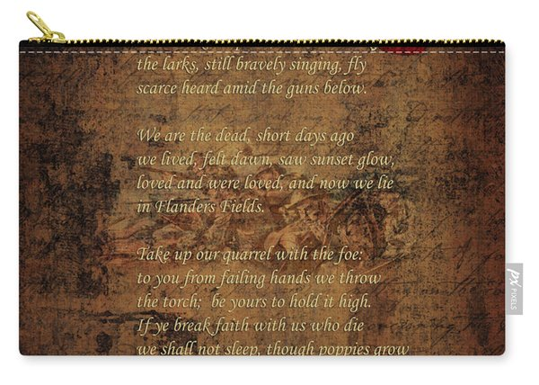 In Flanders Fields 2 Carry-all Pouch