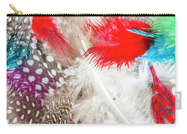 In Quill Colors Carry-all Pouch