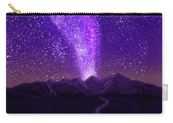 In The Arizona Night Carry-all Pouch