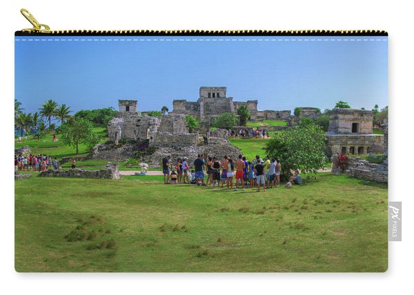In The Footsteps Of The Maya Carry-all Pouch