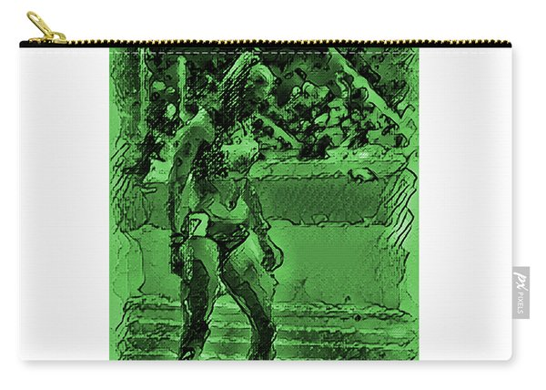 In The Green Zone Carry-all Pouch