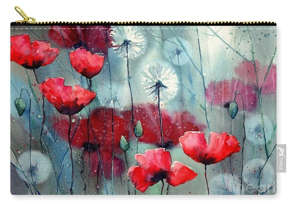 In The Night Garden - Rising Poppies Carry-all Pouch