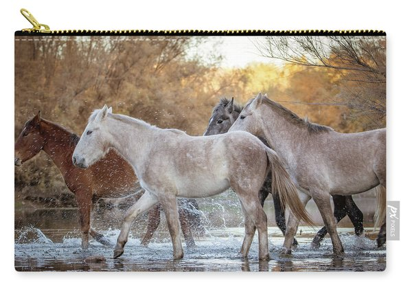 In The River Carry-all Pouch
