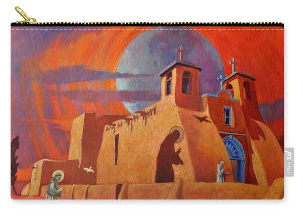 In The Shadow Of St. Francis Carry-all Pouch