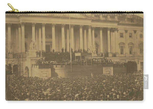 Inauguration Of Abraham Lincoln, March 4, 1861 Carry-all Pouch