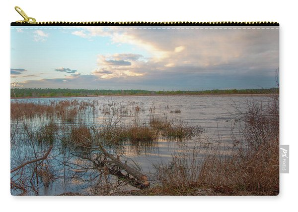 Incoming In The New Jersey Pine Barrens Carry-all Pouch