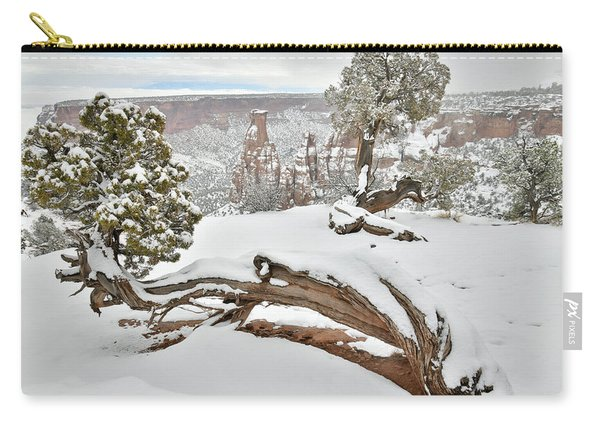 Independence Canyon Of Colorado National Monument Carry-all Pouch