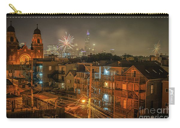 Independence Day In Chicago Carry-all Pouch
