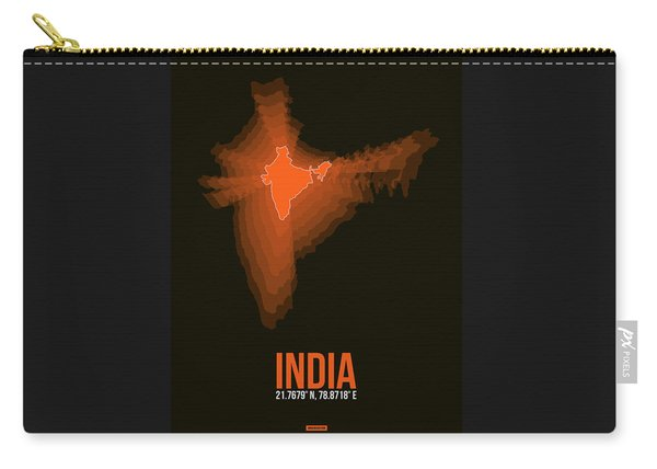 India Radiant Map 1 Carry-all Pouch
