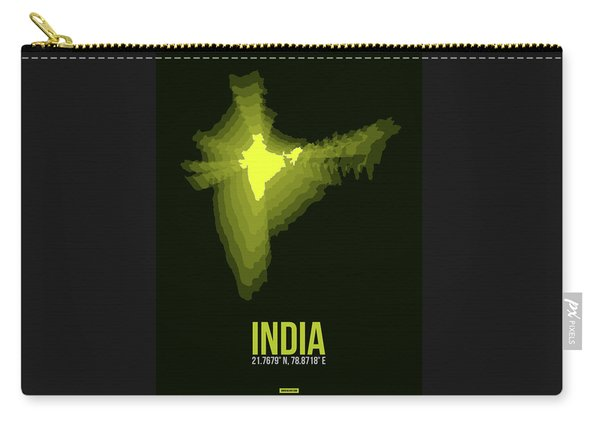 India Radiant Map 2 Carry-all Pouch