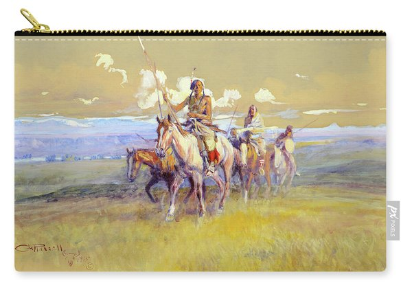 Indian Party, 1915 Carry-all Pouch