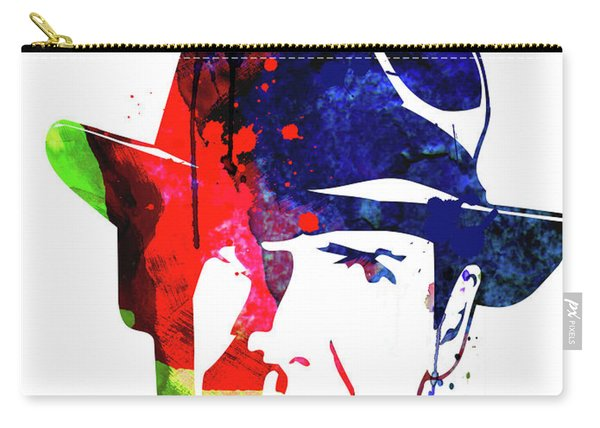Indiana Jones Watercolor Carry-all Pouch