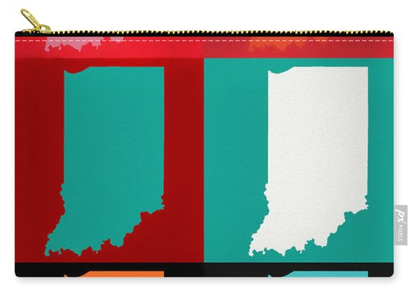 Indiana Pop Art Carry-all Pouch