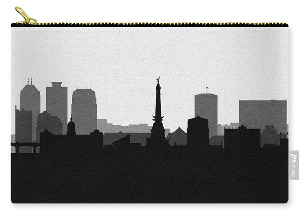 Indianapolis Cityscape Art V2 Carry-all Pouch