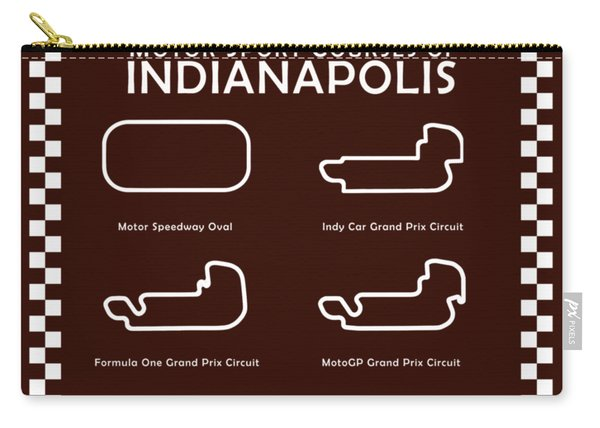 Indianapolis Courses Carry-all Pouch