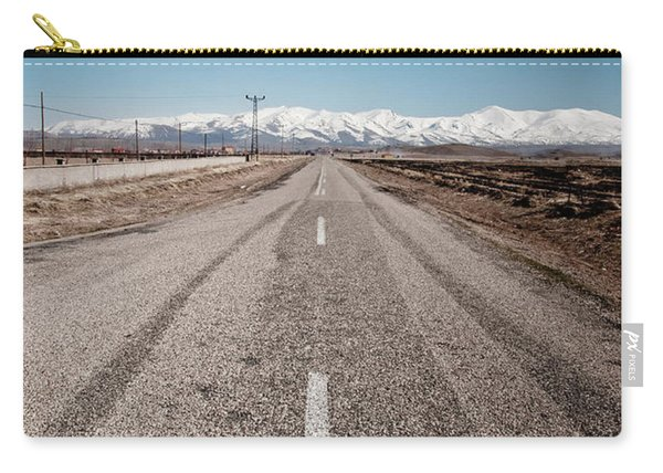infinit road in Turkish landscapes Carry-all Pouch