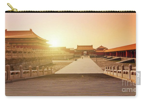 Inside The Forbidden City Carry-all Pouch
