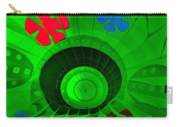 Inside The Green Balloon Carry-all Pouch