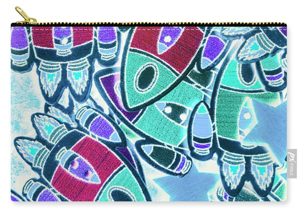 Intergalactic Abstract Carry-all Pouch