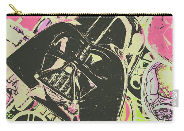 Intergalactic Planetary Pop Art Carry-all Pouch