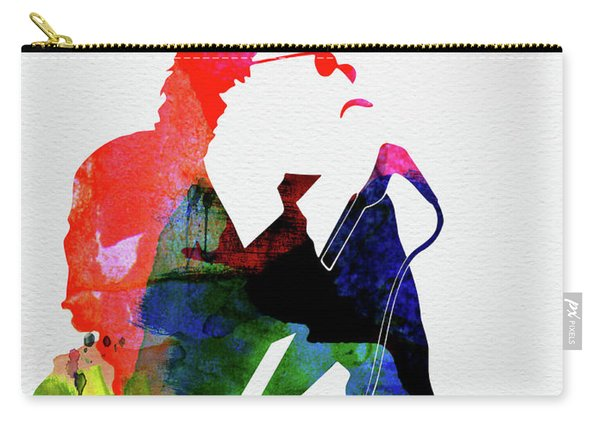 Inxs Watercolor Carry-all Pouch