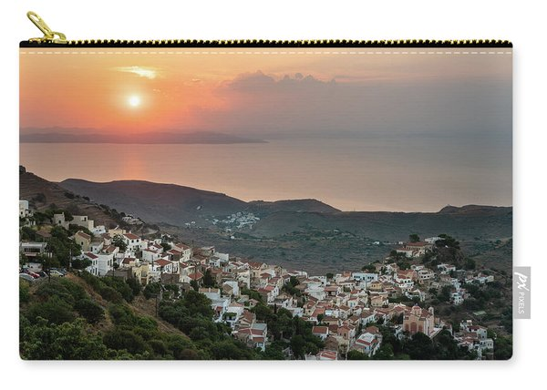 Ioulis Town Sunset, Kea Carry-all Pouch