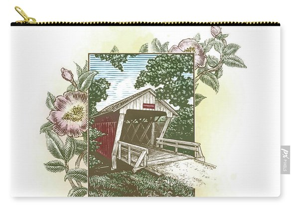 Iowa Covered Bridge Carry-all Pouch