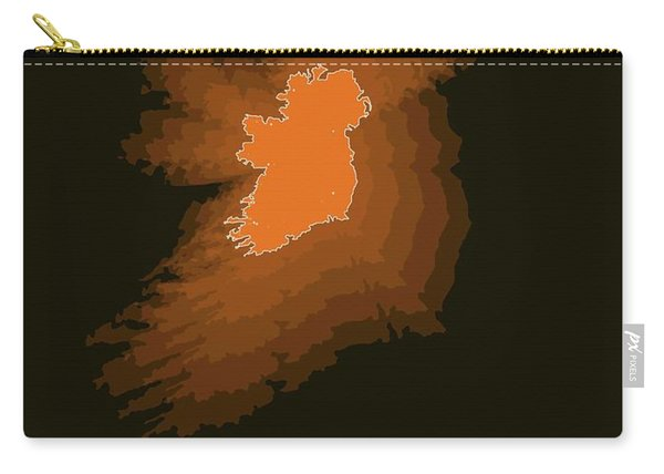 Ireland Radiant Map 3 Carry-all Pouch