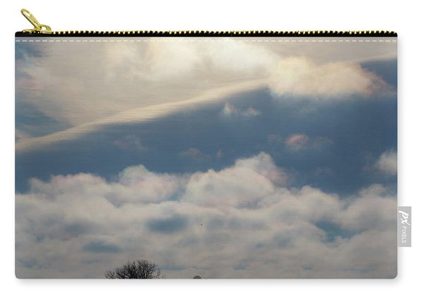 Carry-all Pouch featuring the photograph Iridescent Clouds 01 by Rob Graham