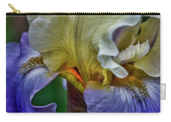 Iris Faith Valor And Wisdom Carry-all Pouch