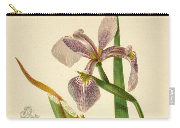 Iris Versicolor Blue Flag Carry-all Pouch