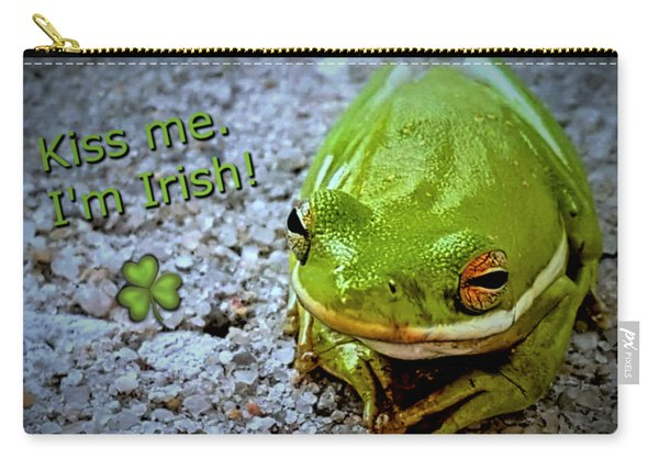 Irish Frog Carry-all Pouch