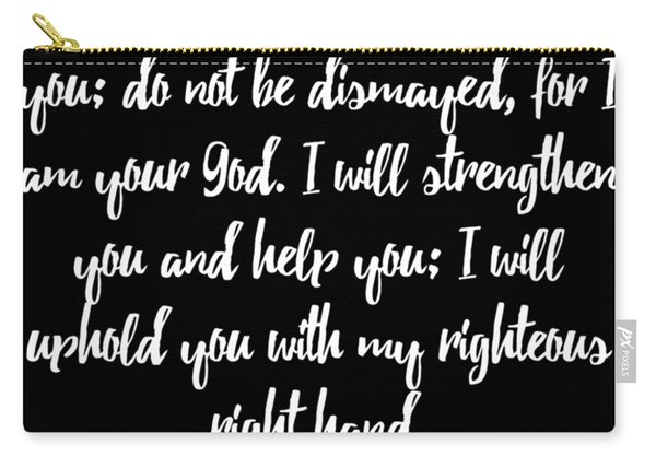 Isaiah 4110 Bible Carry-all Pouch