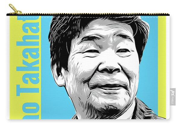 Isao Takahata Tribute Carry-all Pouch