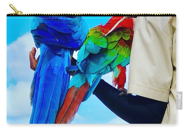 Island Birds  Carry-all Pouch