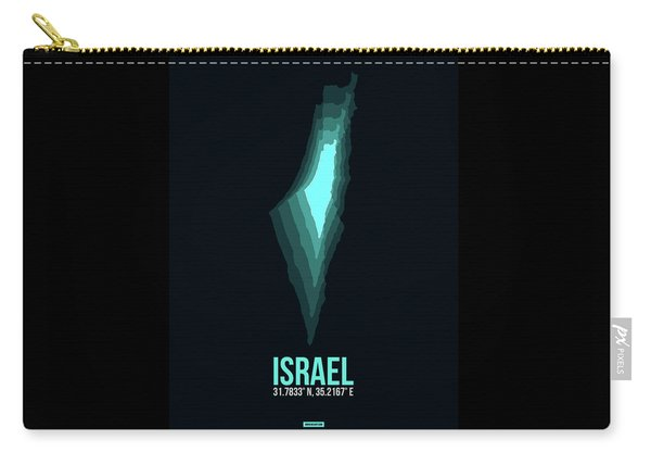 Israel Radiant Map 1 Carry-all Pouch