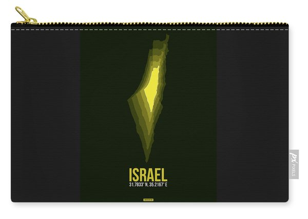 Israel Radiant Map 2 Carry-all Pouch